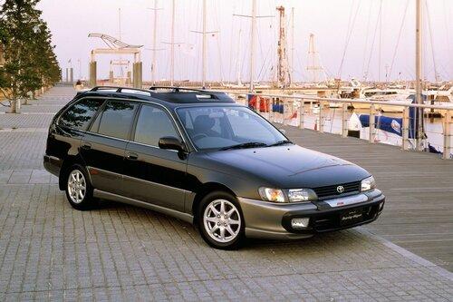 Народное ретро. Toyota Corolla Touring Wagon AE100 1994 года. Все сущности «сарая»14