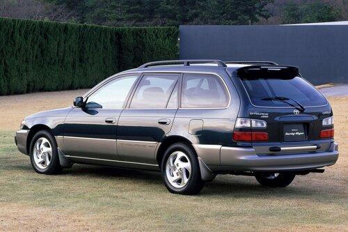 Народное ретро. Toyota Corolla Touring Wagon AE100 1994 года. Все сущности «сарая»15