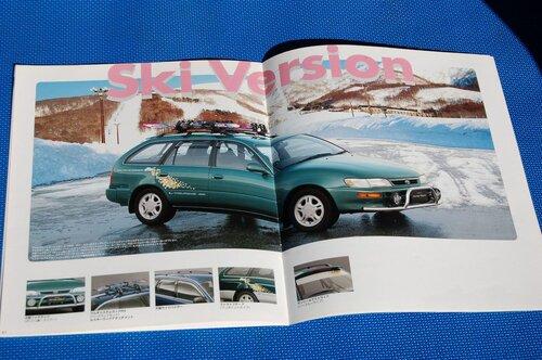 Народное ретро. Toyota Corolla Touring Wagon AE100 1994 года. Все сущности «сарая»32