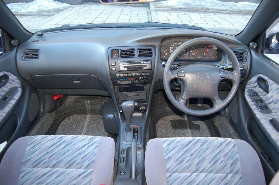 Народное ретро. Toyota Corolla Touring Wagon AE100 1994 года. Все сущности «сарая»33
