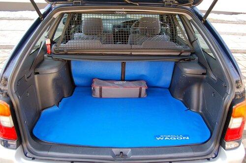 Народное ретро. Toyota Corolla Touring Wagon AE100 1994 года. Все сущности «сарая»42