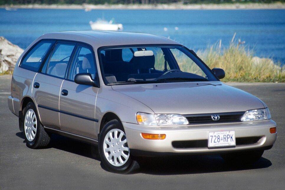 Народное ретро. Toyota Corolla Touring Wagon AE100 1994 года. Все сущности «сарая»48