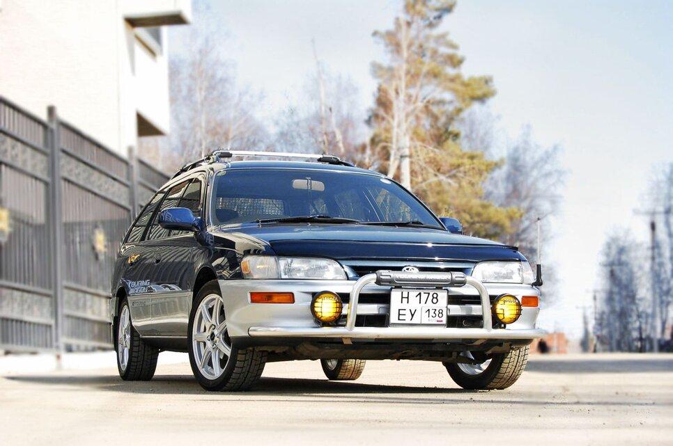 Народное ретро. Toyota Corolla Touring Wagon AE100 1994 года. Все сущности «сарая»0
