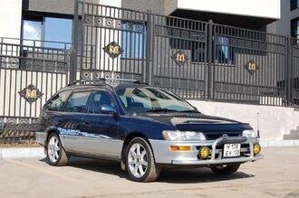 Народное ретро. Toyota Corolla Touring Wagon AE100 1994 года. Все сущности «сарая»50