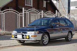 Народное ретро. Toyota Corolla Touring Wagon AE100 1994 года. Все сущности «сарая»52