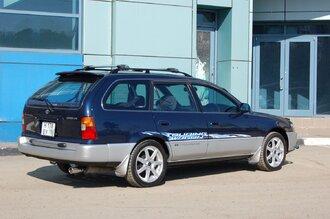Народное ретро. Toyota Corolla Touring Wagon AE100 1994 года. Все сущности «сарая»53