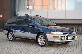 Народное ретро. Toyota Corolla Touring Wagon AE100 1994 года. Все сущности «сарая»55