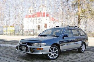Народное ретро. Toyota Corolla Touring Wagon AE100 1994 года. Все сущности «сарая»57