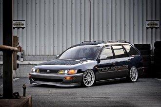 Народное ретро. Toyota Corolla Touring Wagon AE100 1994 года. Все сущности «сарая»64