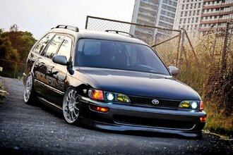 Народное ретро. Toyota Corolla Touring Wagon AE100 1994 года. Все сущности «сарая»65