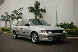 Народное ретро. Toyota Corolla Touring Wagon AE100 1994 года. Все сущности «сарая»66
