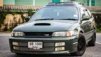 Народное ретро. Toyota Corolla Touring Wagon AE100 1994 года. Все сущности «сарая»67