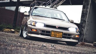 Народное ретро. Toyota Corolla Touring Wagon AE100 1994 года. Все сущности «сарая»68