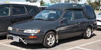 Народное ретро. Toyota Corolla Touring Wagon AE100 1994 года. Все сущности «сарая»71