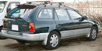 Народное ретро. Toyota Corolla Touring Wagon AE100 1994 года. Все сущности «сарая»72