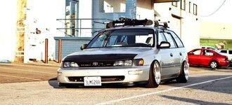 Народное ретро. Toyota Corolla Touring Wagon AE100 1994 года. Все сущности «сарая»73