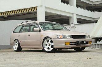 Народное ретро. Toyota Corolla Touring Wagon AE100 1994 года. Все сущности «сарая»76