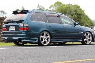 Народное ретро. Toyota Corolla Touring Wagon AE100 1994 года. Все сущности «сарая»78