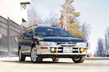 Народное ретро. Toyota Corolla Touring Wagon AE100 1994 года. Все сущности «сарая»
