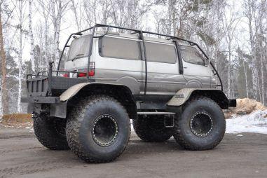 Инженерный гений глубинки: как скрестили Toyota Hiace c рамой ГАЗ-66