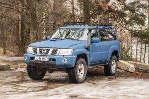 Nissan Patrol: один из «Святой троицы»