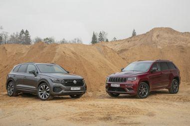 Jeep Grand Cherokee против Volkswagen Touareg. Индеец или бербер?