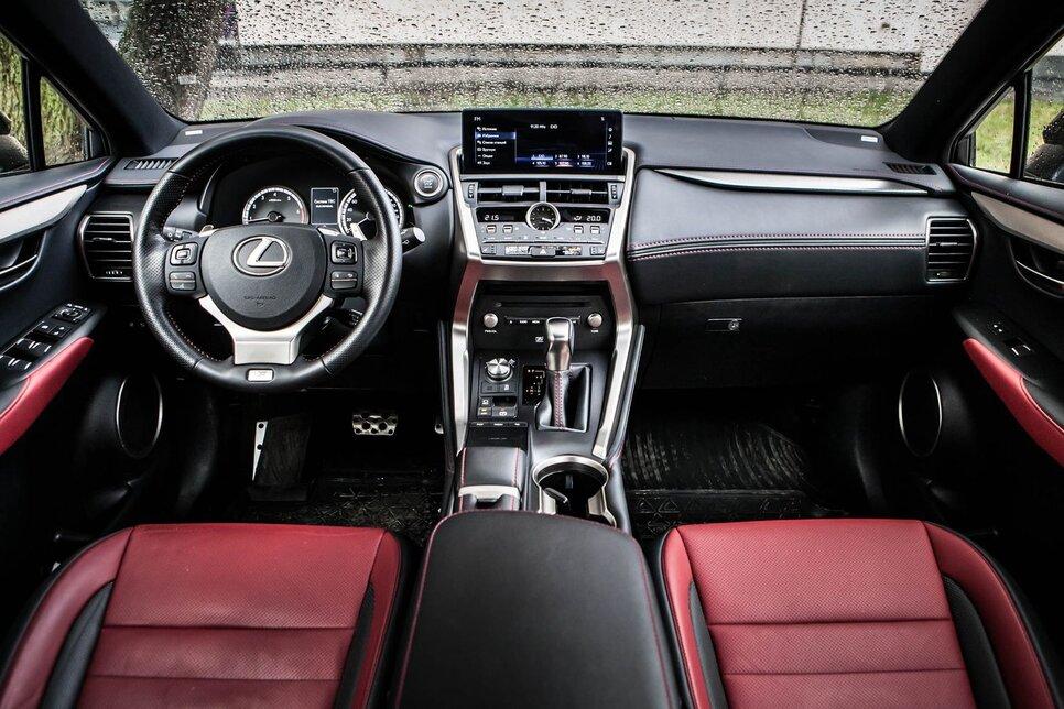 И в гроб сходя, благословил! Lexus NX 300 инспектирует Geely Tugella21