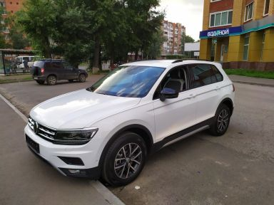 Volkswagen Tiguan 2020 отзыв автора | Дата публикации 12.04.2021.