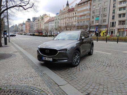 Mazda CX-5 2021 - отзыв владельца