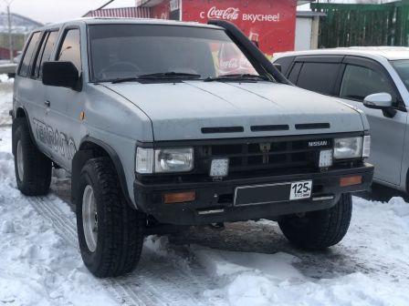 Nissan Terrano 1991 - отзыв владельца