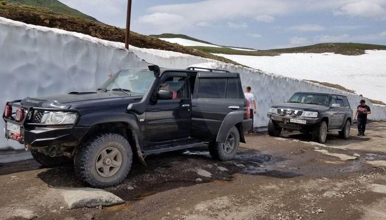 Покатили к вершине Вилючинского перевала