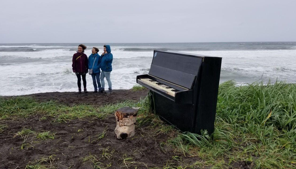 где-то на Халактырском пляже