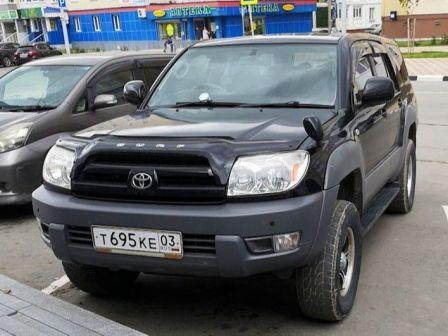 Toyota Hilux Surf 2004 - отзыв владельца