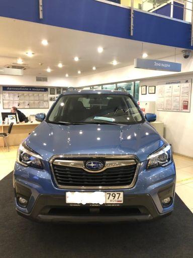 Subaru Forester 2021 отзыв автора | Дата публикации 23.04.2021.