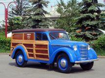 Москвич 401 1954, цельнометаллический фургон, 1 поколение