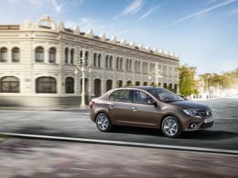 Распродажа склада Renault Logan 2020 года