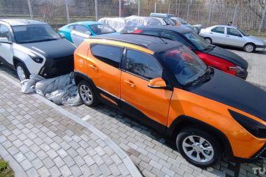 Что стало с Ё-мобилями: фото из Беларуси