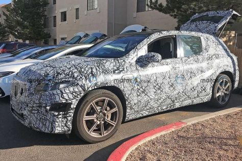 Mercedes-Benz готовится вывести полноразмерный электрический кроссовер