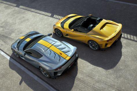 Ferrari представила суперкары с отсечкой в 9500 об/мин