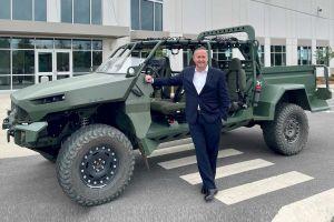 General Motors показал электробагги для военных