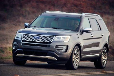 617 тысяч Ford Explorer попали под отзыв