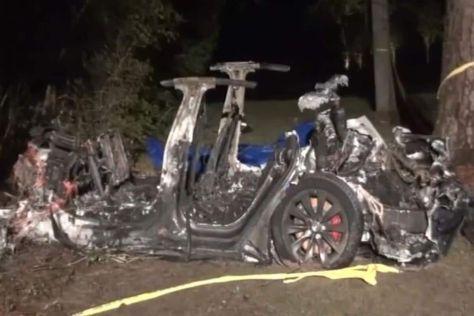 Следователи опубликовали первые выводы о нашумевшей автокатастрофе с участием Tesla Model S