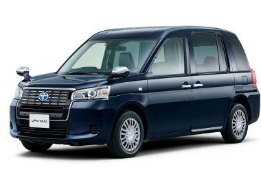 Toyota обновила японский кэб