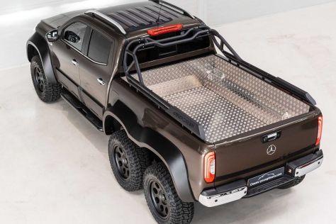 Mercedes-Benz X-Class 6x6 существует, и его уже продали