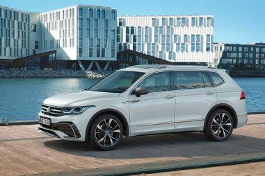 Volkswagen обновил семиместный Tiguan Allspace