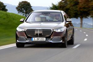 Daimler AG по-тихому показал флагманский Mercedes-Maybach S680 с V12