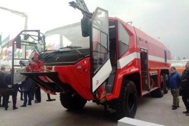 БАЗ раскрыл характеристики своего пожарного монстра