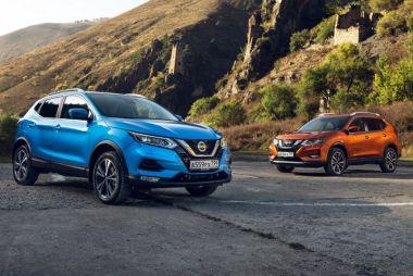 В России стартовали продажи Nissan Qashqai и X-Trail в версии с автопилотом