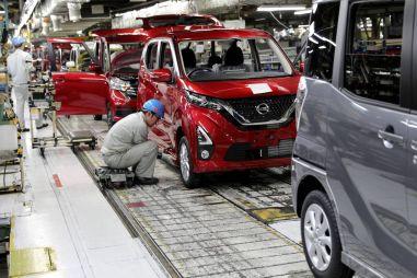 Nissan прогнозирует недопроизводство полумиллиона автомобилей в 2021 году