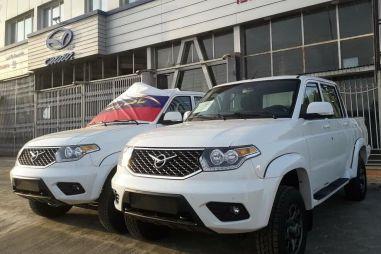 В Иране стартовали продажи УАЗа Пикап